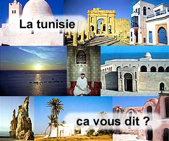 La tunisie, villes, villages, sites antiques...le guide!